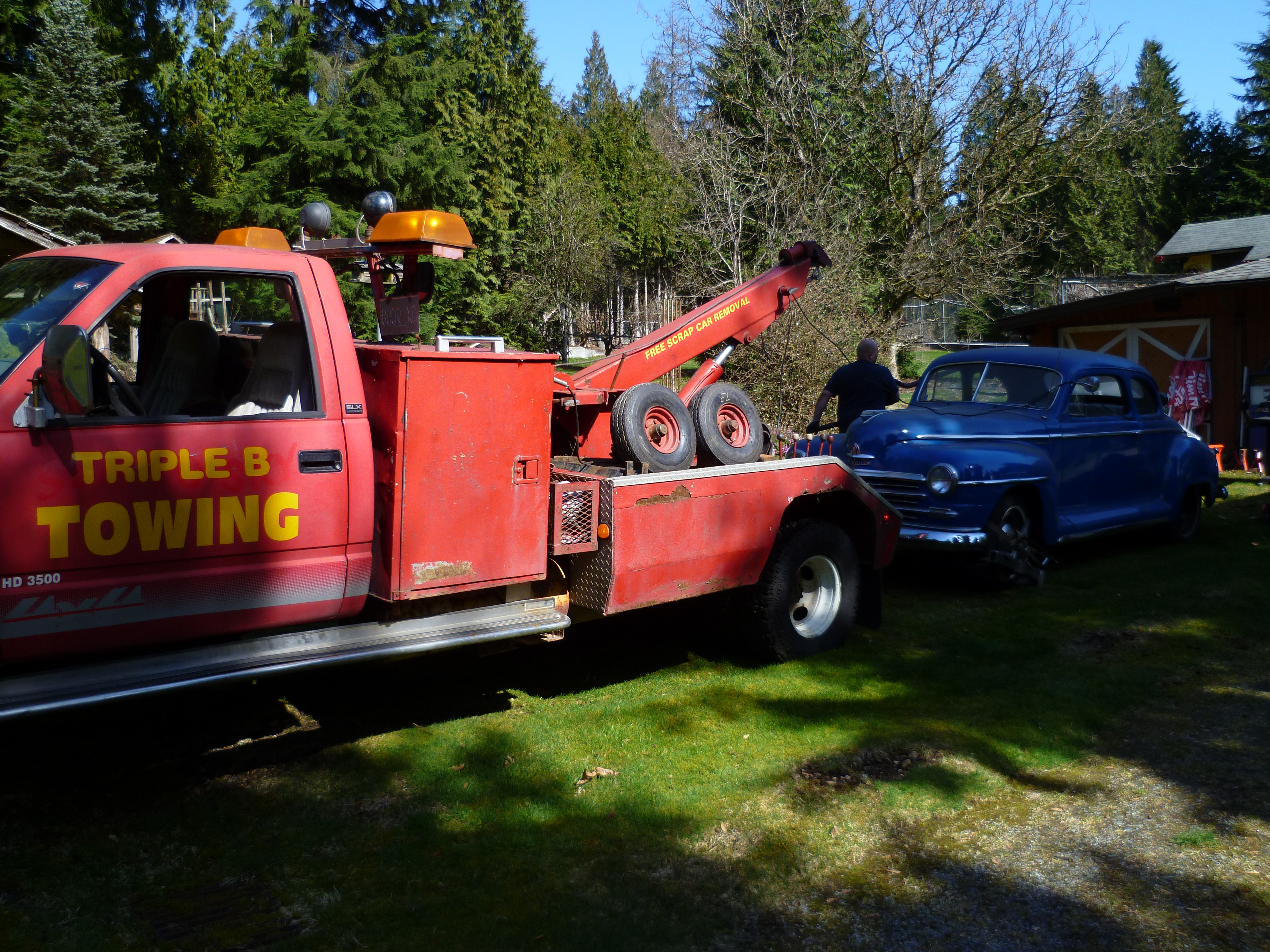 Towing Quote Our Work  Port Coquitlam Towing & Scrap Car Removal  Triple B Towing